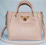 Женские сумки брендовые 2-в-1(бронза)25*25, фото 6