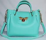 Женские сумки брендовые 2-в-1(бронза)25*25, фото 2