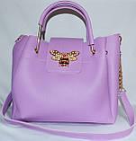 Женские сумки брендовые 2-в-1(бронза)25*25, фото 3