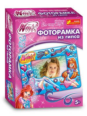 """Набор для творчества """"Фоторамочка из гипса. Winx"""""""
