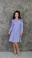Стильная летняя рубашка-платье, фото 1