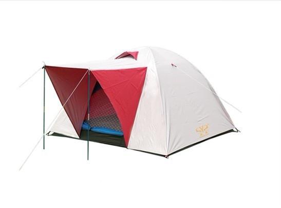 Палатка универсальная 3-х местная с тентом. Цвет черный с синим! Распродажа! АКЦИЯ!