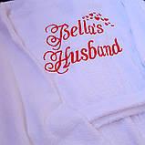 Жіночий махровий халат іменний, фото 4