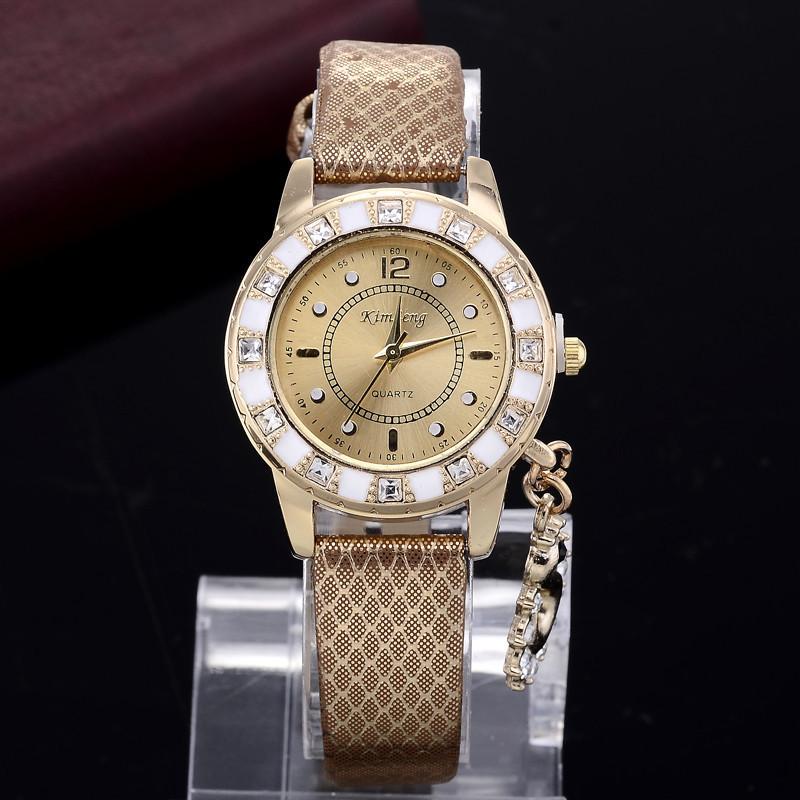 Часы женские KimSong brown