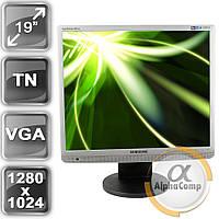 "Монитор 19"" Samsung 943BM (TN/5:4/VGA) silver class B БУ"