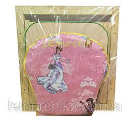 Стульчик-столик для кормления Наталка/Зайченок (трансформер) Принцессы