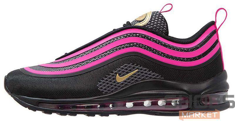 Женские кроссовки Nike Air Max 97 Black Violet, Найк Аир Макс 97