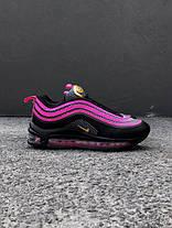 Женские кроссовки Nike Air Max 97 Black Violet, Найк Аир Макс 97, фото 3