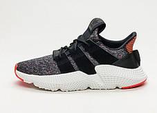 Мужские кроссовки Adidas Prophere Core Black/Solar Red CQ3022, Адидас Профер, фото 3