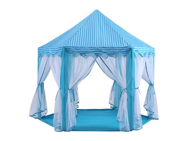 Палатка - шатер детская (голубая) арт. 3759, фото 1