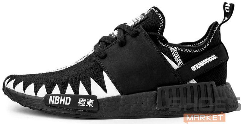 new product 3c040 b2498 Мужские кроссовки Adidas x Neighborhood NMD R1 PK Core Black/Ftwr White  DA8835