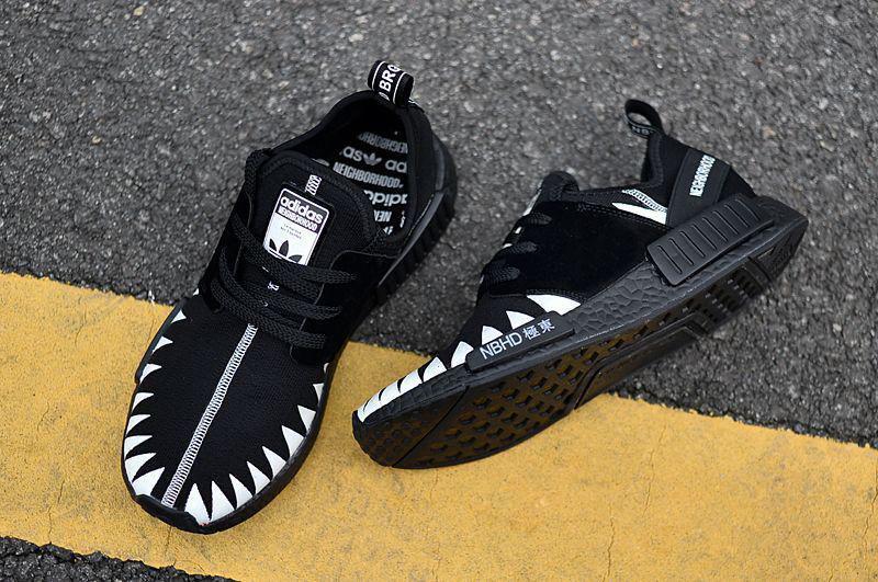 timeless design 679ed 3e699 Мужские кроссовки Adidas x Neighborhood NMD R1 PK Core Black/Ftwr White  DA8835, Адидас НМД - Bigl.ua