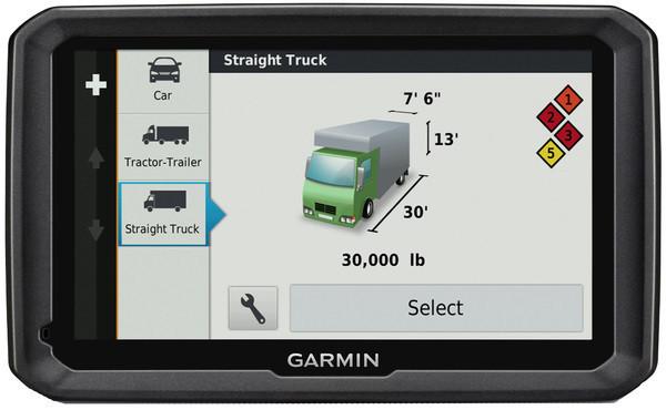 GPS навигатор Garmin Dezl 770LMT