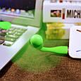 USB вентилятор Rubber blower , фото 3