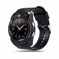 Умные смарт-часы Smart Watch GSM V8 Black  , фото 1