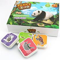 Обучающая игра карточки виртуальной реальности FANCY ZOO, фото 2