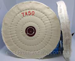 Круг полірувальний муслиновый 175х10х6 білий