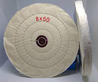 Круг полировальный муслиновый 200х10х6 белый