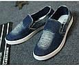 Мокасины blue джинс 38//39//41, фото 3