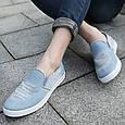 Мокасины blue джинс 38//39//41, фото 8