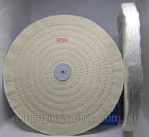 Круг полірувальний муслиновый 250х10х6 білий