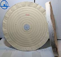 Круг полірувальний муслиновый 300х10х6 білий