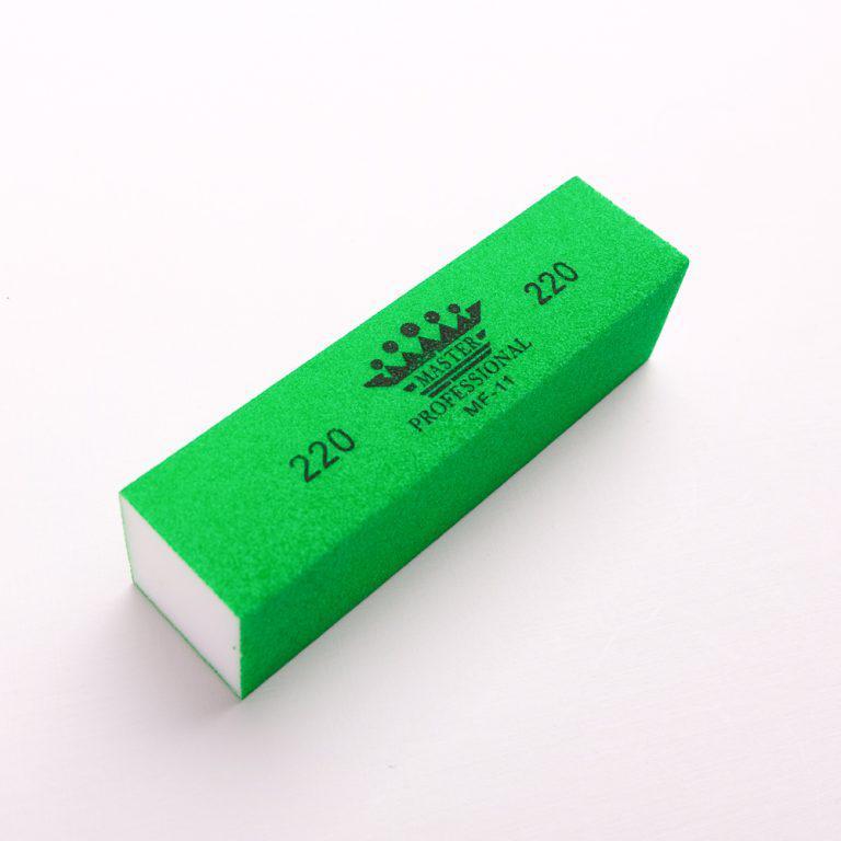 Бафф для полировки ногтей Master Professional 220 грит