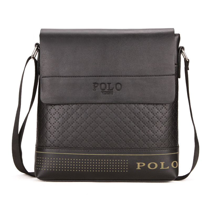 Мужская сумка POLO Videng horizontal black