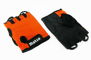 Перчатки для фитнеса,велоспорта Matsa оранж