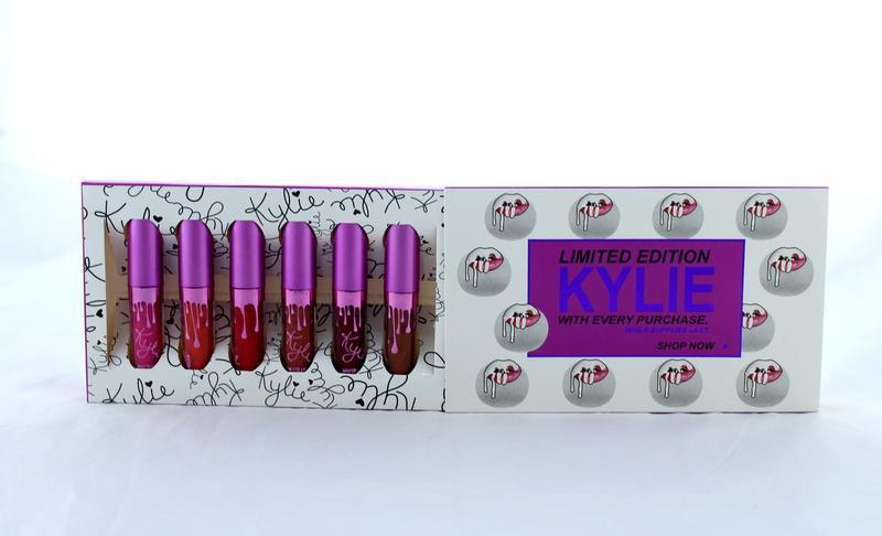 Набор матовых помад в стиле Kylie Limited Edition 6 шт.