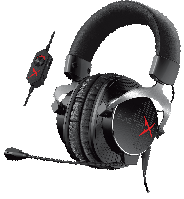 Наушники игровые Creative Sound BlasterX H5 Tournament Edition Gaming (70GH031000003)