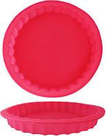 Форма Kamille Pie силиконовая для пирогов круглая 23х3см