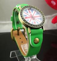 Часы женские наручные BRITISH FLAG green (зеленый)