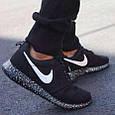 Кроссовки Nike Roshe Run black 35-36, фото 6
