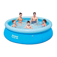 Детский надувной бассейн Bestway 57266 (305 х 76 см, круглый)