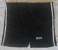 Женские хб шорты с лампасом тм Сенова чёрные, фото 1