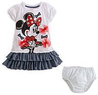 """Детское платье для тематического праздника """"Minni Mouse"""""""
