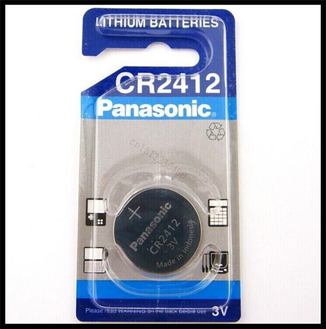 Дискова батарейка PANASONIC Cell Lithium 3V CR2412