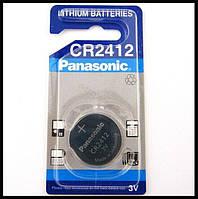 Дискова батарейка PANASONIC Cell Lithium 3V CR2412, фото 1
