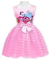 Детское платье My little Pony, нежно-розовое