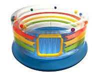 Детский надувной батут Радуга Intex 48264 182х89 см
