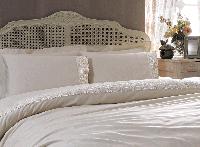 Кружевной комплект постельного белья Tivolyo Home Diamant (bej), фото 1