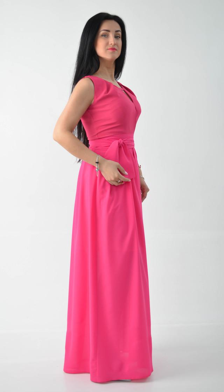 Молодежное малиновое платье с пышной юбкой  продажа e7500c55d960e