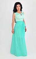 Торжественное молодежное платье размер 48