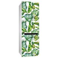 Виниловая наклейка на холодильник Ананасы (пленка самоклеющаяся фотопечать)