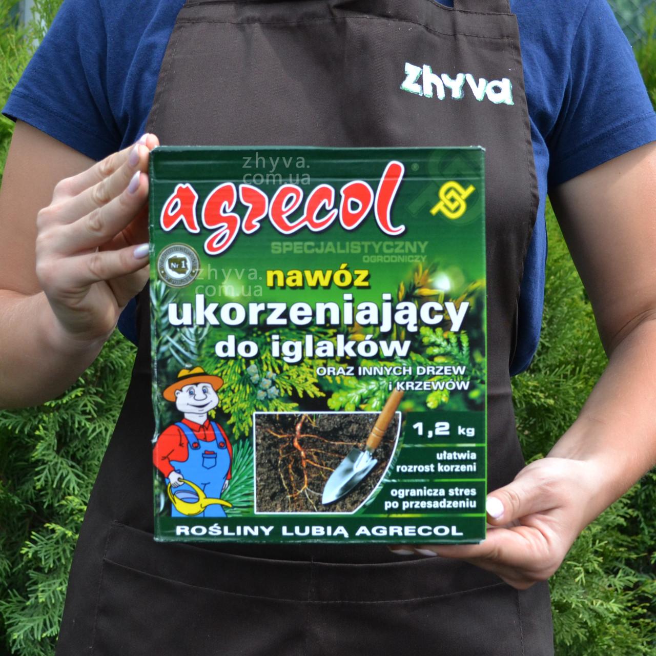 Добриво Agrecol укорінювач для хвойних рослин 1.2кг