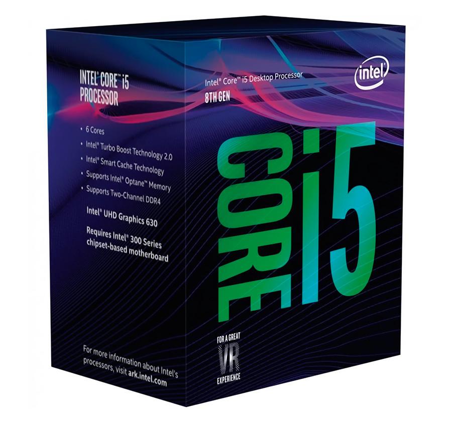 Процессор Intel Core i5 (LGA1151) i5-8600, Box