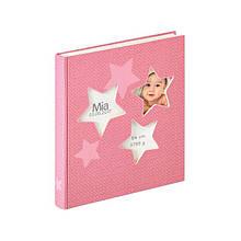 Дитячий фотоальбом Walther Estrella 50 pages Pink