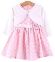 Нежное платье для девочки с болеро, фото 1