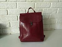 "Женский рюкзак-сумка (трансформер) ""Кристи 1 Red Wine"", фото 1"